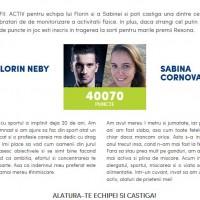 Alege echipa Florin Neby si Sabina Cornovac si castiga!
