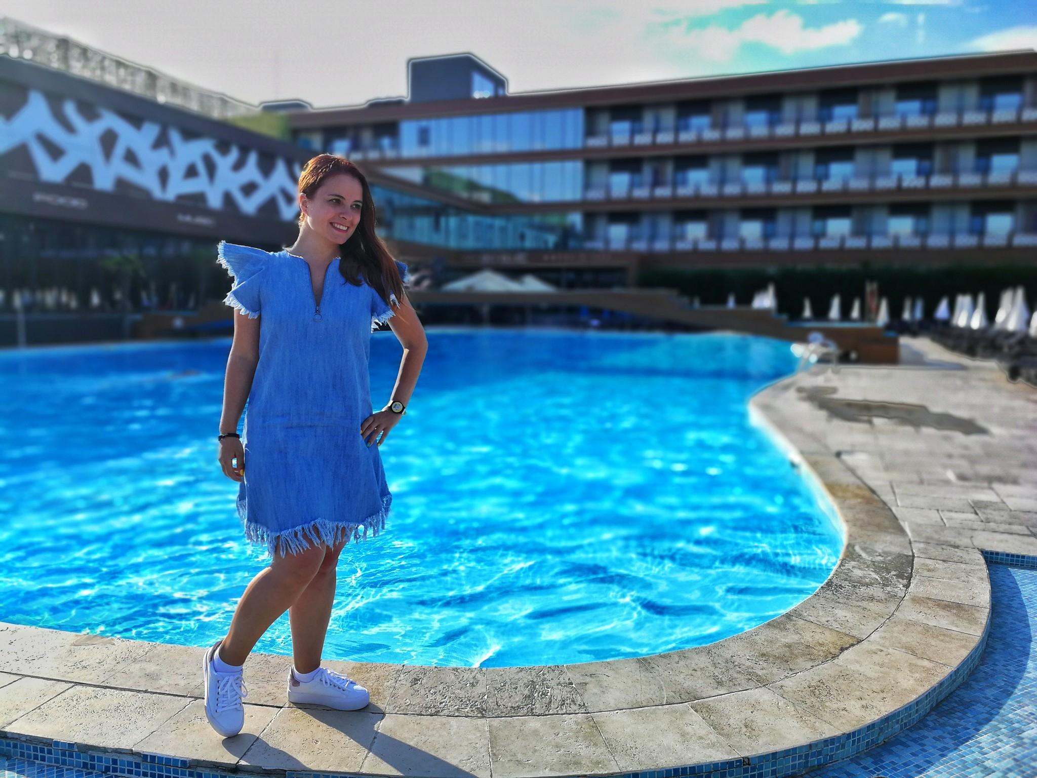 sky blue hotel spa