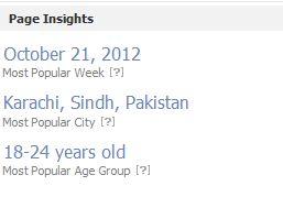 Facebook: Like-uri din Pakistan?