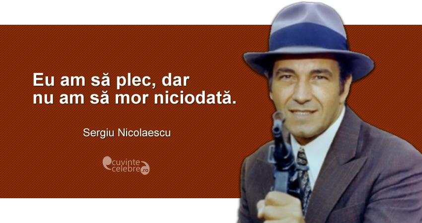 Stire: Sergiu Nicolaescu a murit