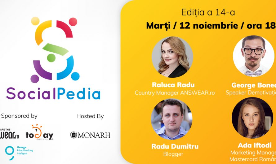 Hai la SocialPedia 14 despre social media în e-commerce